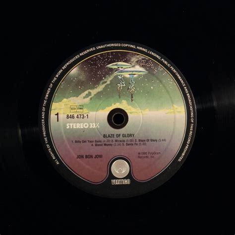 Jon Bon Jovi Blaze Glory Album Black