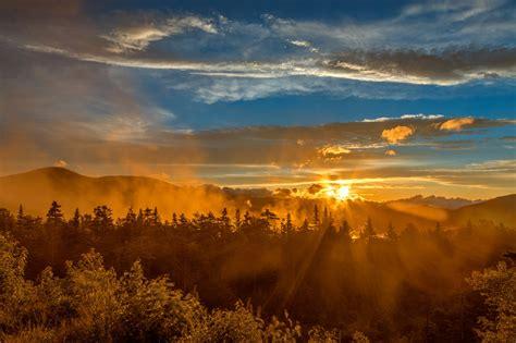 misty gold mountain sunset  somadjinn  deviantart