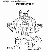Goosebumps Coloring Pages Werewolf Printable Slappy Dude Perfect Colorings Getcolorings Printables Getdrawings Popular Template sketch template