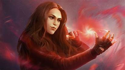 Witch Scarlet Powers Wallpapers 4k Marvel 4n