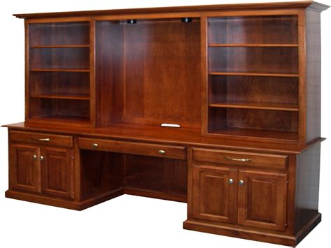 Desks With Bookshelves, Office Desk With Bookcase Office