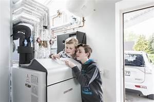 Heizung Für Einfamilienhaus : w rmepumpe ist idealer w rmeerzeuger f r heizung und ~ Lizthompson.info Haus und Dekorationen