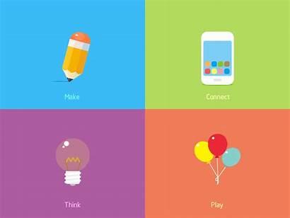 Inspiration Animation Icons Icon Flat Motion App