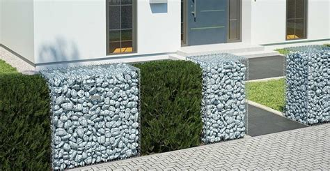 Gabionen Ganz Einfach Selber Bauen  Obi Gartenplaner