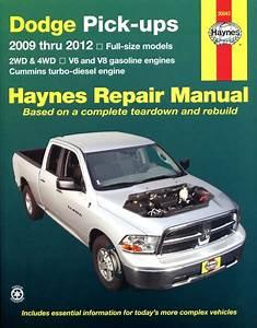 Haynes Dodge Full-size Pick-ups 2009 Thru 2012  Usa