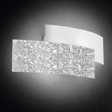 applique da parete moderne lara lada da parete in vetro piccola gea luce lara ap