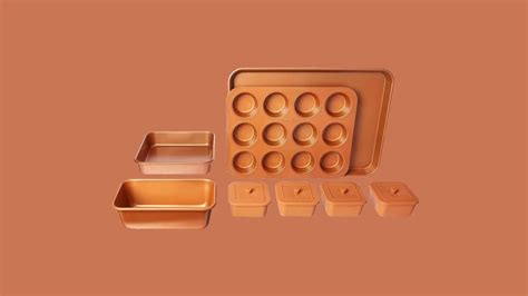 copper cookware products  transform  cooking  baking