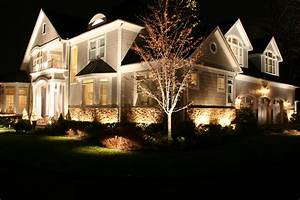 landscape lighting designer michael gotowala shows us a With outdoor illuminations garden lighting