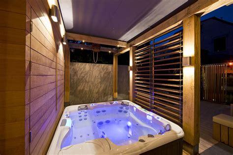 Indoor Tub by Netherlands Wellness Centre With Luxurious Indoor Outdoor
