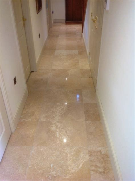 Travertine Floor Cleaning Machines by Restoring The Appearance Of A Polished Travertine Tiled