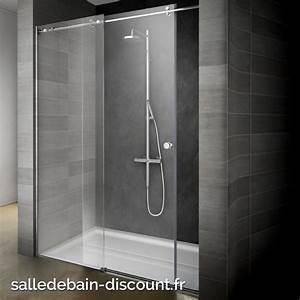 teuco paroi de douche a porte coulissante endless With porte de douche coulissante avec meuble salle de bain 80 cm de large