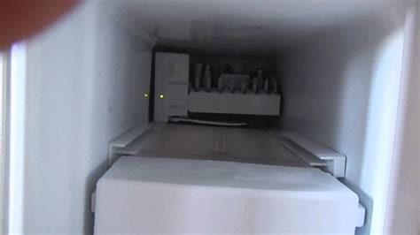ge refrigerator reset ice maker youtube