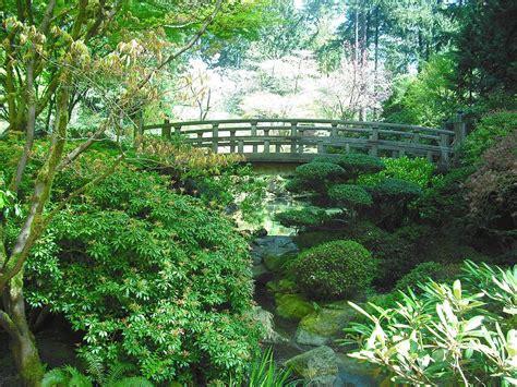 portland japanese garden photograph by manning