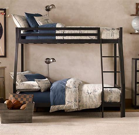 industrial loft twin  full bunk bed