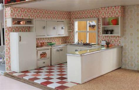 vintage custom kitchen   betsy mccall dollhouse
