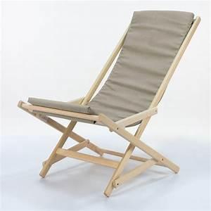 Coussin Chaise Longue : dondolina chaise longue pliable en h tre fournie de coussin diff rentes rev tements ~ Teatrodelosmanantiales.com Idées de Décoration