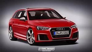 Audi Rs 4 : 2017 audi rs4 avant rendered but what will power it ~ Melissatoandfro.com Idées de Décoration