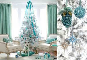 decoration ideas for white trees before and after