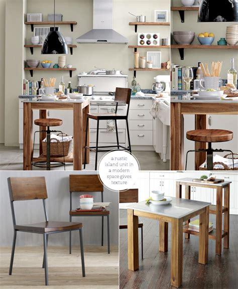 diy portable kitchen island elm modern meets rustic industrial kitchen bright