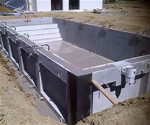 faire sa piscine en beton 14 comment construire une With faire une piscine en beton