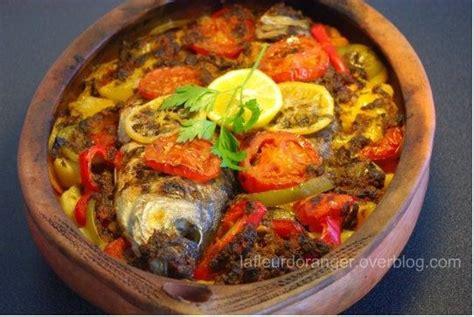 cuisiner du poisson au four tajine de poisson au four à la marocaine