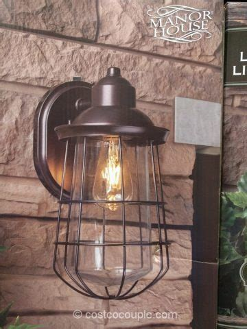 costco led outdoor lights manor house vintage led coach light