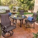 all weather wicker outdoor furniture patio deck