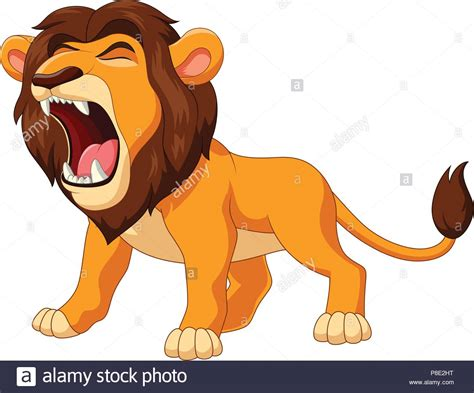 Angry Lion Drawing Stock Photos & Angry Lion Drawing Stock