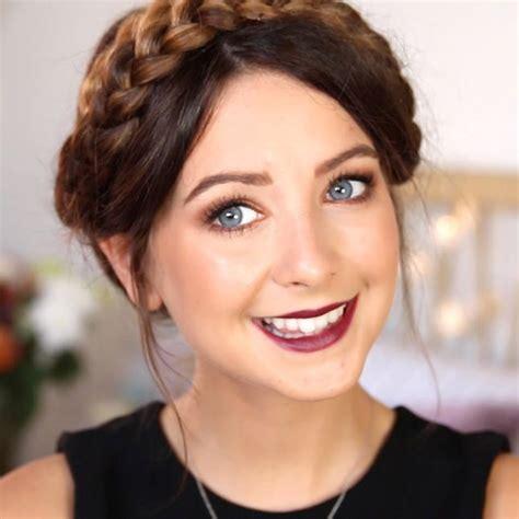 zoella hair  makeup tutorials hair