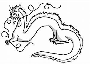 Dragon Line Art - Cliparts.co