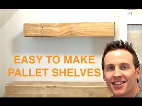 rustic wood pallet floating shelves pallet projects