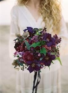 Wedding Flower Inspiration: Dark Wedding Bouquets