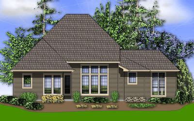 Traditional Home Plan With Great Room 69127am