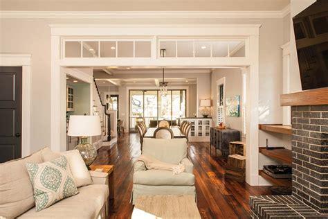 open floor plan living room decatur whole house renovation atlanta home improvement