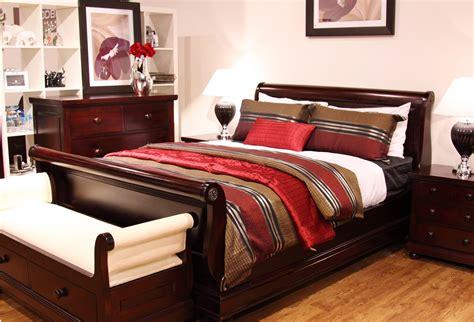 Antoinette 4 Piece Mahogany Bedroom Suite