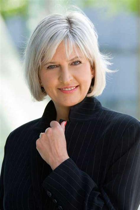 simple short hairstyles  older women