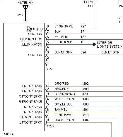 Wiring Diagram For Ford Explorer