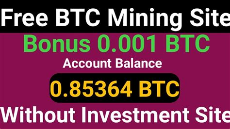 ✅ check the latest price! New Bitcoin Cloud Mining Sites 2020 | 0.009 BTC Earn Without Investment | Best BTC Cloud Mining ...