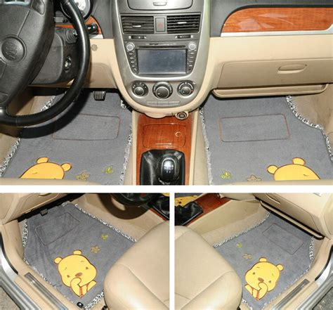buy wholesale discount winnie the pooh lace universal carpet girly car floor mats plush