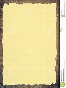 Old Paper Template Stock Illustration  Illustration Of Paper