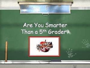 the computer lab teacher are you smarter than a 5th With are you smarter than a 5th grader template