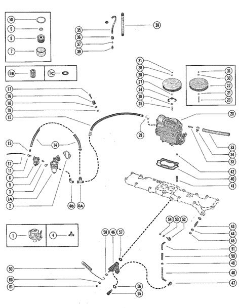 160 Mercruiser Wiring Diagram by Mercruiser 160 Gm 250 I L6 1967 1969 Fuel Fuel