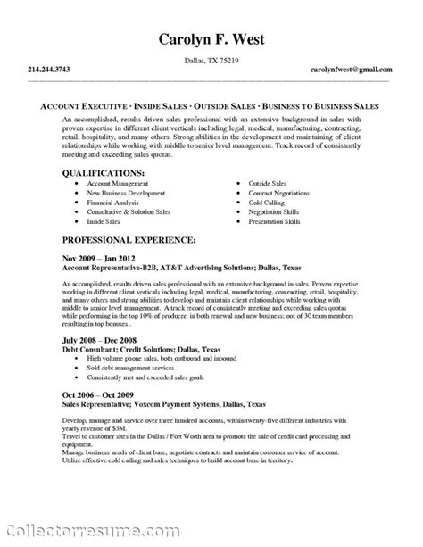 sales account manager resume sle 28 images hedge fund