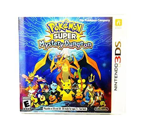 pokemon super mystery dungeon nintendo 3ds more pokemon