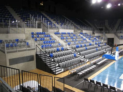 fr azur arena antibes telescopic seating think seating think ferco seating