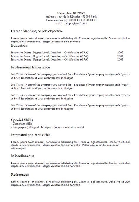 best photos of exle of a completed resume completed