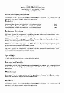 Classic resume letters maps for Classic resume template