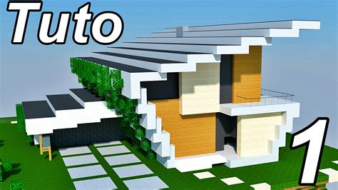 High Quality Images For Video Minecraft Visite Maison Moderne Defroi
