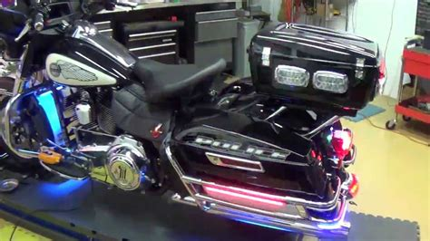 police motorcycle safety lights leds delray beach police motorcycle light by chrome glow youtube