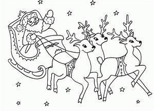 Nom Des Rennes Du Pere Noel : traineau rennes pere noel ~ Medecine-chirurgie-esthetiques.com Avis de Voitures